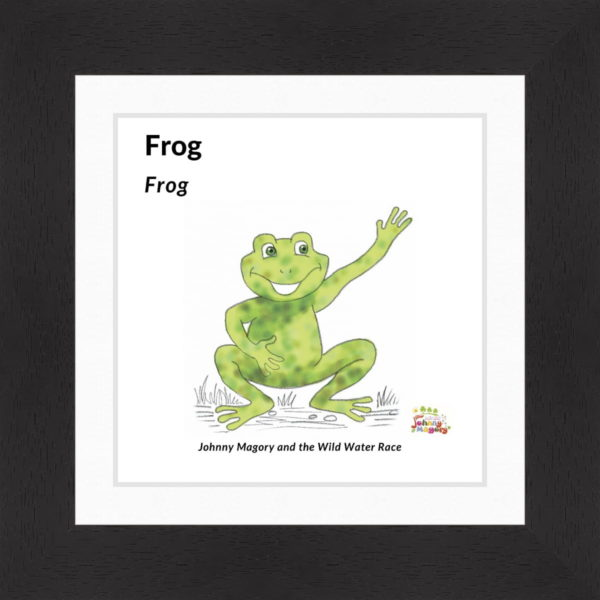 Johnny Magory Frog black