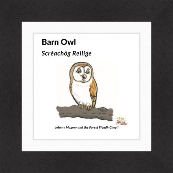 Johnny Magory Barn Owl Black