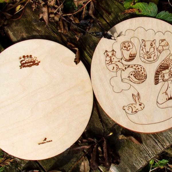 Johnny Magory Irish Wildlife Wooden Puzzle