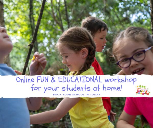 Schools Virtual Workshops Johnny Magory