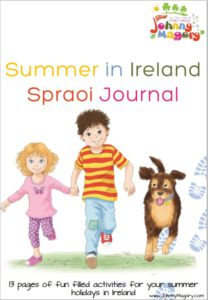 Summer In Ireland Fun Journal with Johnny Magory