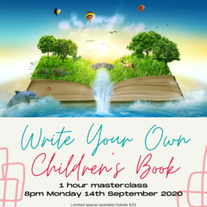 Write your own childrens book masterclass Johnny Magory Emma-Jane Leeson