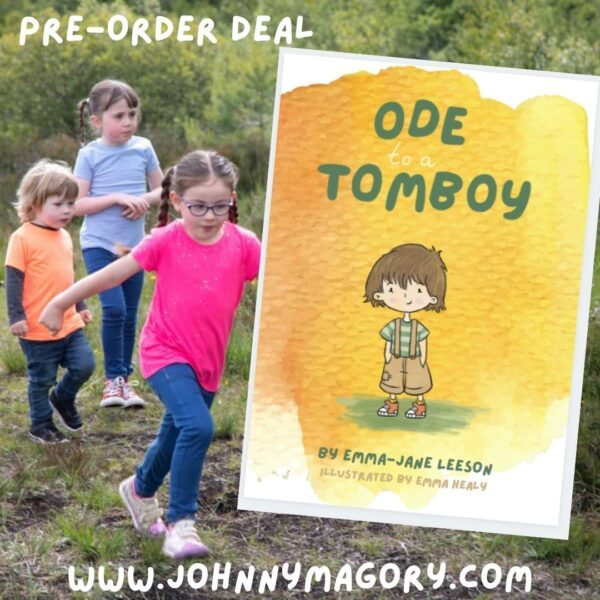 Ode to a Tomboy Pre-Order Emma-Jane Leeson