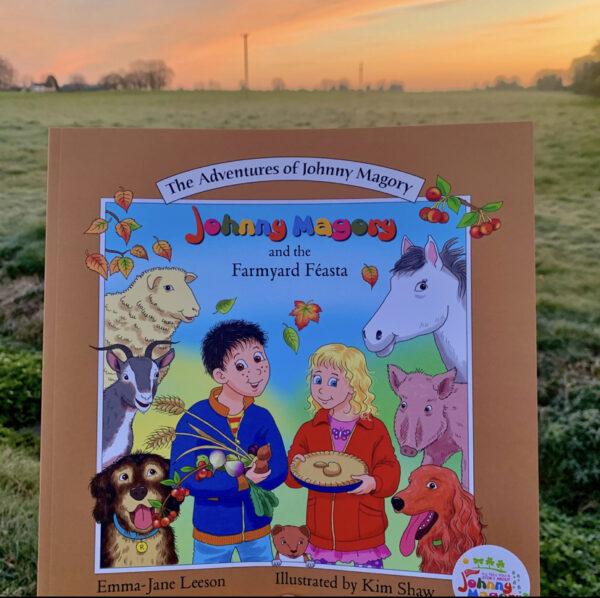 Farmyard Feasta book johnny magory childrens book
