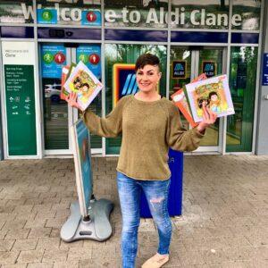 Emma-Jane Leeson Johnny Magory Aldi Ireland Clane Grow with Aldi