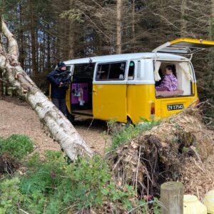 Johnny Magory Irish LEgends Tizzy Volkswagen Kombi Nationwide