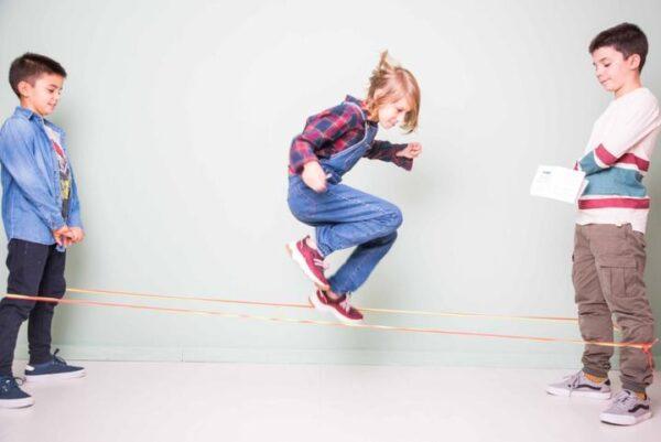 Jumping bands elastics johnny magory